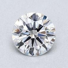 1.00 Carat 圆形 Diamond 理想 E VS2