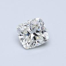 0.50 Carat 垫形 Diamond 非常好 I VVS2