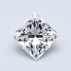 Recommended Stone #2: 0.91-Carat Princess Cut Diamond