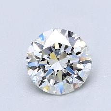 1.00-Carat Round Diamond Ideal F VS1