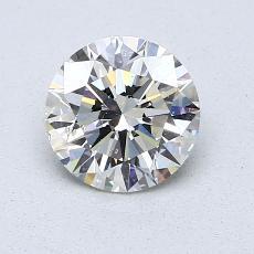 1.00 Carat 圆形 Diamond 理想 K SI2
