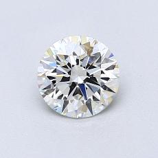 0,70 Carat Rond Diamond Idéale G VS1