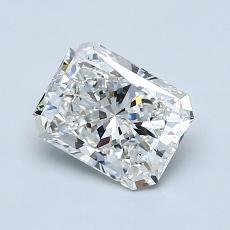 1.01-Carat Radiant Diamond Very Good F VS2