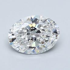 Recommended Stone #3: 1.08-Carat Oval Cut