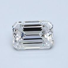 Recommended Stone #1: 0.80-Carat Emerald Cut Diamond