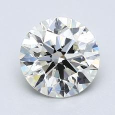 1.51-Carat Round Diamond Ideal K VS1