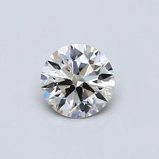 0.50 Carat Redondo Diamond Ideal J VS2