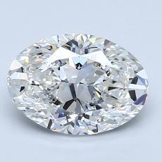 2,01-Carat Oval Diamond Very Good G VS2
