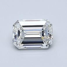 Recommended Stone #3: 0.91-Carat Emerald Cut Diamond