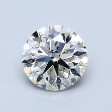 1.01 Carat 圆形 Diamond 非常好 K SI2