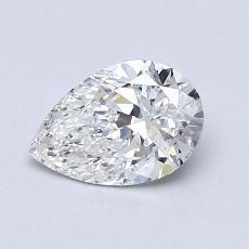 推荐宝石 3:0.83 克拉梨形切割钻石