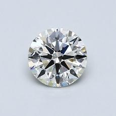 0.62 Carat 圓形 Diamond 理想 I VVS2