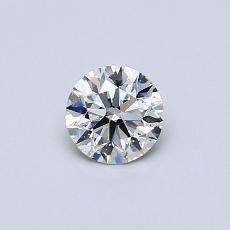 0.40 Carat 圆形 Diamond 理想 J SI1