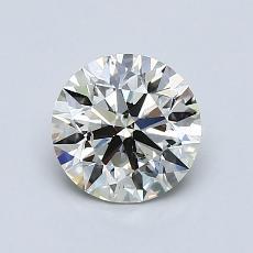 1.01 Carat 圆形 Diamond 理想 K SI2