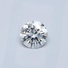 0.30 Carat Redondo Diamond Ideal F VS2