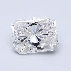 Recommended Stone #1: 1,34-Carat Radiant Cut Diamond