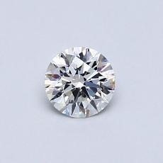 0.41 Carat 圓形 Diamond 理想 F VS2