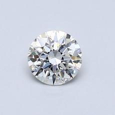 0.50 Carat 圆形 Diamond 理想 G VS2