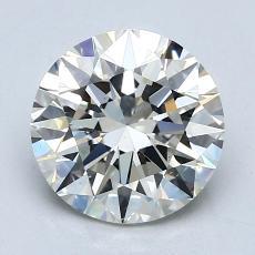 1.71 Carat 圆形 Diamond 理想 K VS2