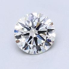 1.04 Carat 圆形 Diamond 理想 H VS1