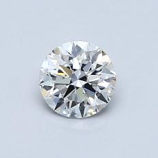 0.60 Carat Redondo Diamond Ideal D VVS2