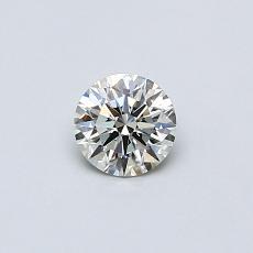 0,30 Carat Rond Diamond Idéale K SI2