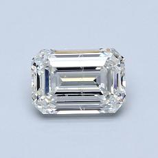 Recommended Stone #2: 0.82-Carat Emerald Cut Diamond