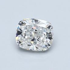 0.80-Carat Cushion Diamond Very Good F VVS2