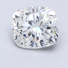 推荐宝石 1:3.51 克拉垫形钻石