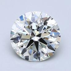 1.66 Carat 圆形 Diamond 理想 J VS1