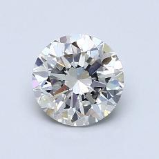 1.01 Carat 圆形 Diamond 良好 H SI2