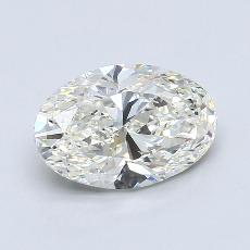 Recommended Stone #2: 2,00-Carat Oval Cut