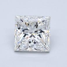 Current Stone: 1.20-Carat Princess Cut