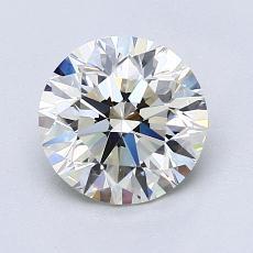 1,50 Carat Rond Diamond Idéale K VS1