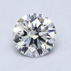 1.01-Carat Round Diamond Ideal H VVS2