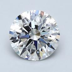 推薦鑽石 #4: 1.65  克拉圓形切割