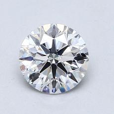 1.01 Carat 圆形 Diamond 理想 E VS1