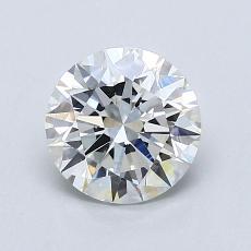 1.01-Carat Round Diamond Ideal G VVS2