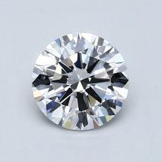 1.02 Carat 圆形 Diamond 理想 G VVS1