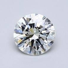 1.01 Carat 圆形 Diamond 理想 J VVS1