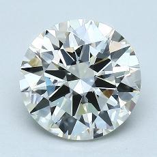 2.00-Carat Round Diamond Ideal J VVS1