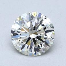 推荐宝石 3:1.28 克拉圆形切割
