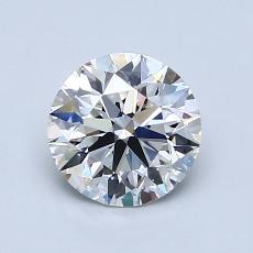1.04-Carat Round Diamond Ideal G VS1