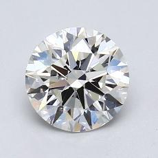 Pierre recommandée n°3: Diamant taille ronde 1,35 carat