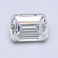 1.02 Carat 绿宝石 Diamond 非常好 E VVS2