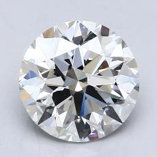 2,00 Carat Rond Diamond Idéale F VS1