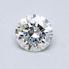 Recommended Stone #2: 0.80-Carat Round Cut Diamond