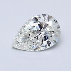 0.71-Carat Pear Diamond Very Good G VS2