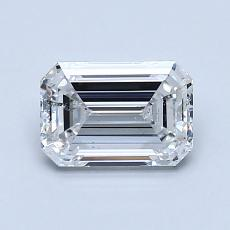 Recommended Stone #2: 1,10-Carat Emerald Cut