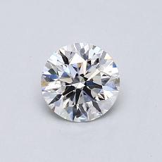 推荐宝石 2:0.58克拉圆形切割钻石